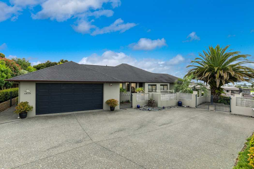 Large double garage with internal access.