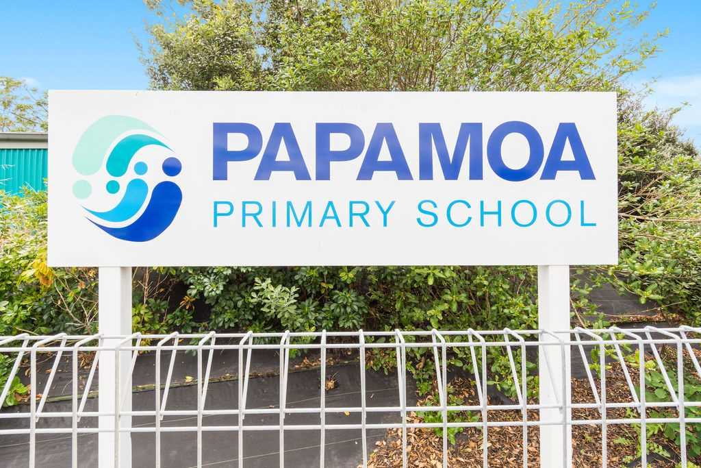 Papamoa Primary School nearby
