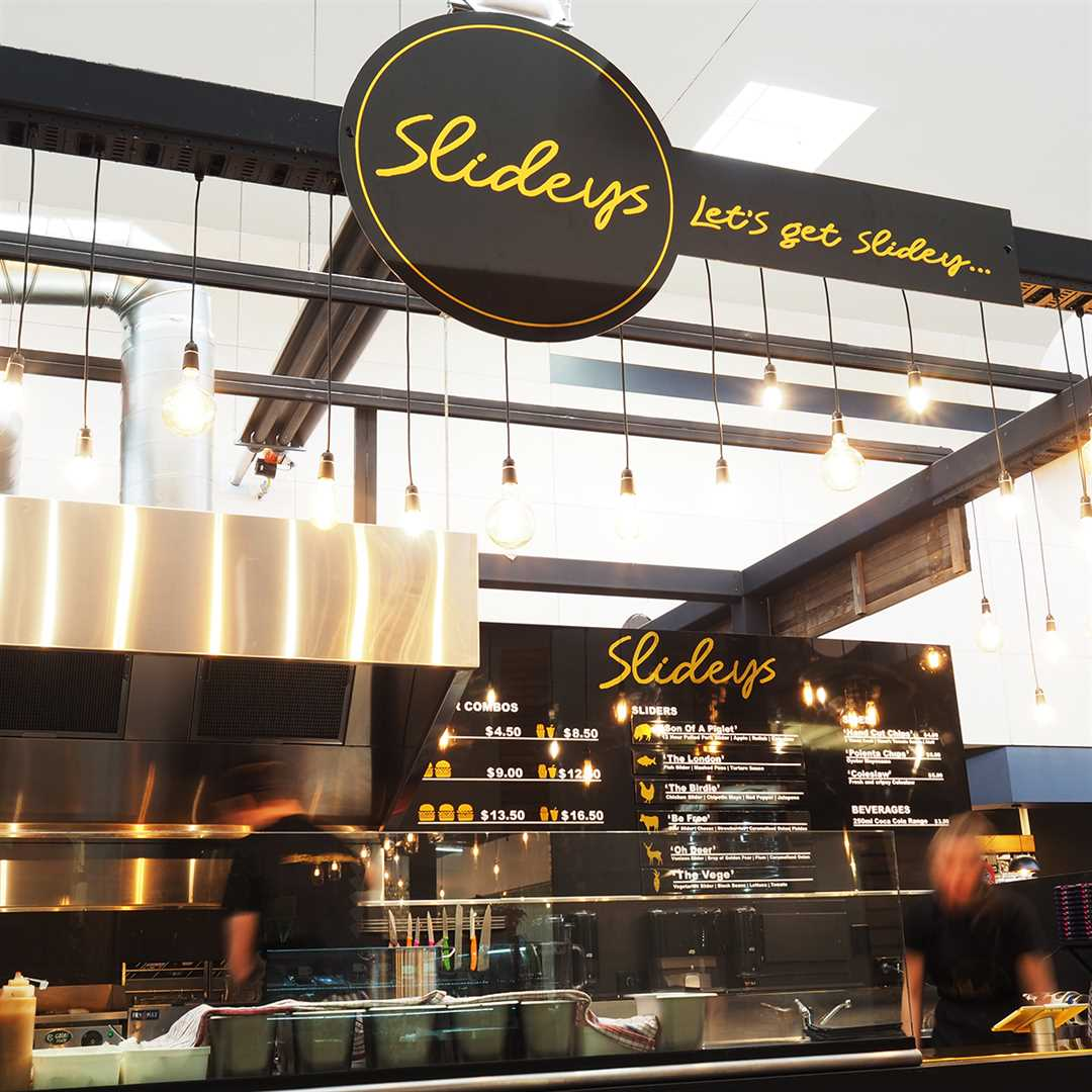 'Slideys' - Contemporary concept eatery