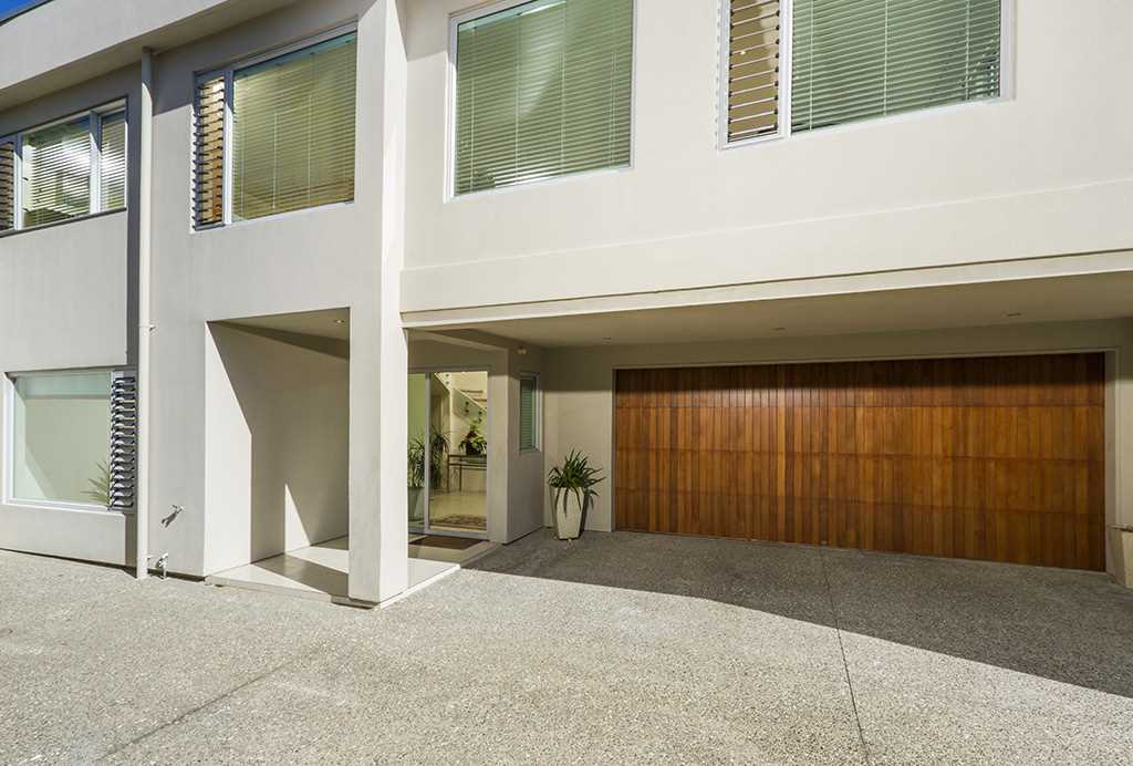 Generous double garaging with internal access to the foyer