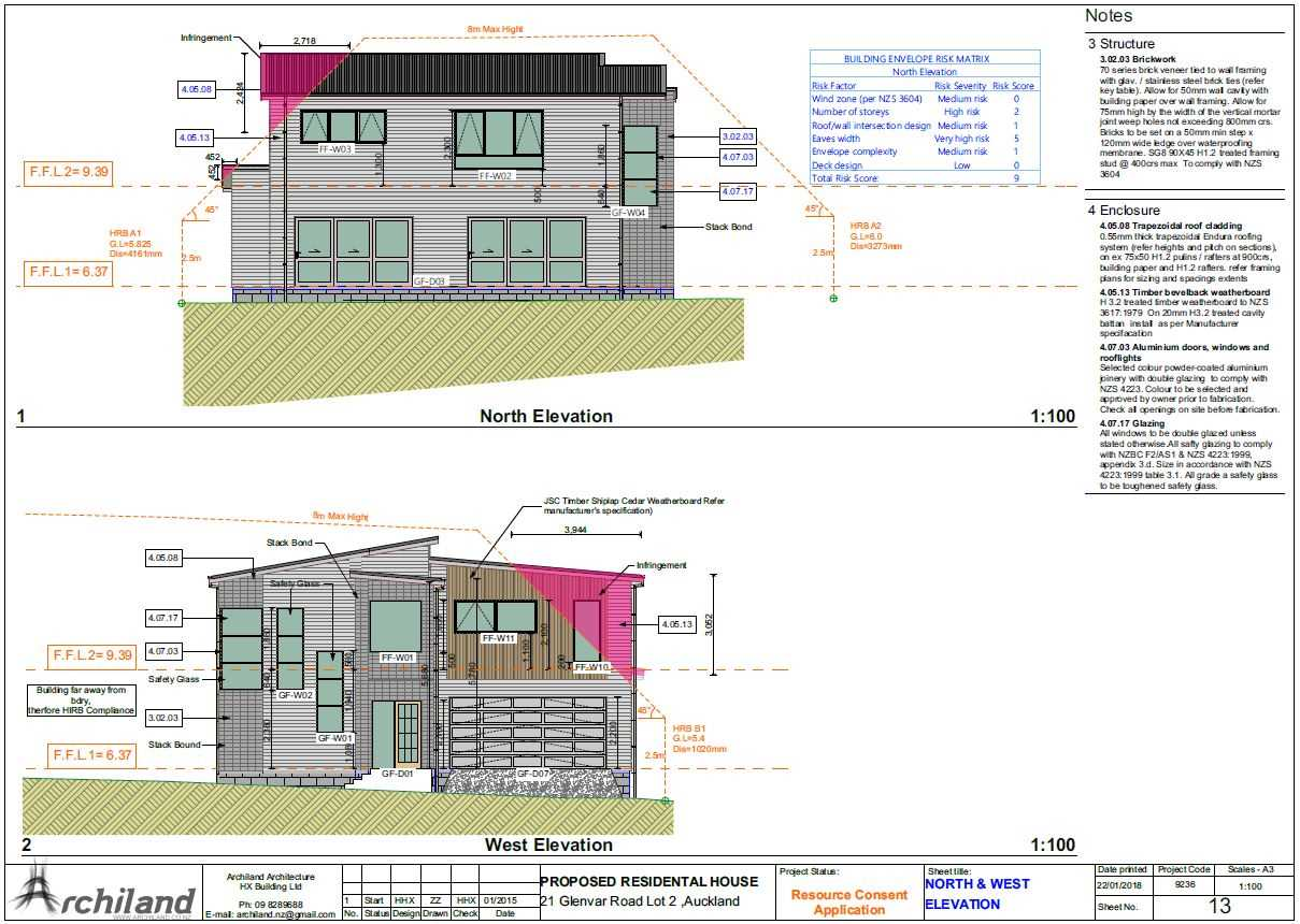 Proposed Plans for Residential House - Page 4