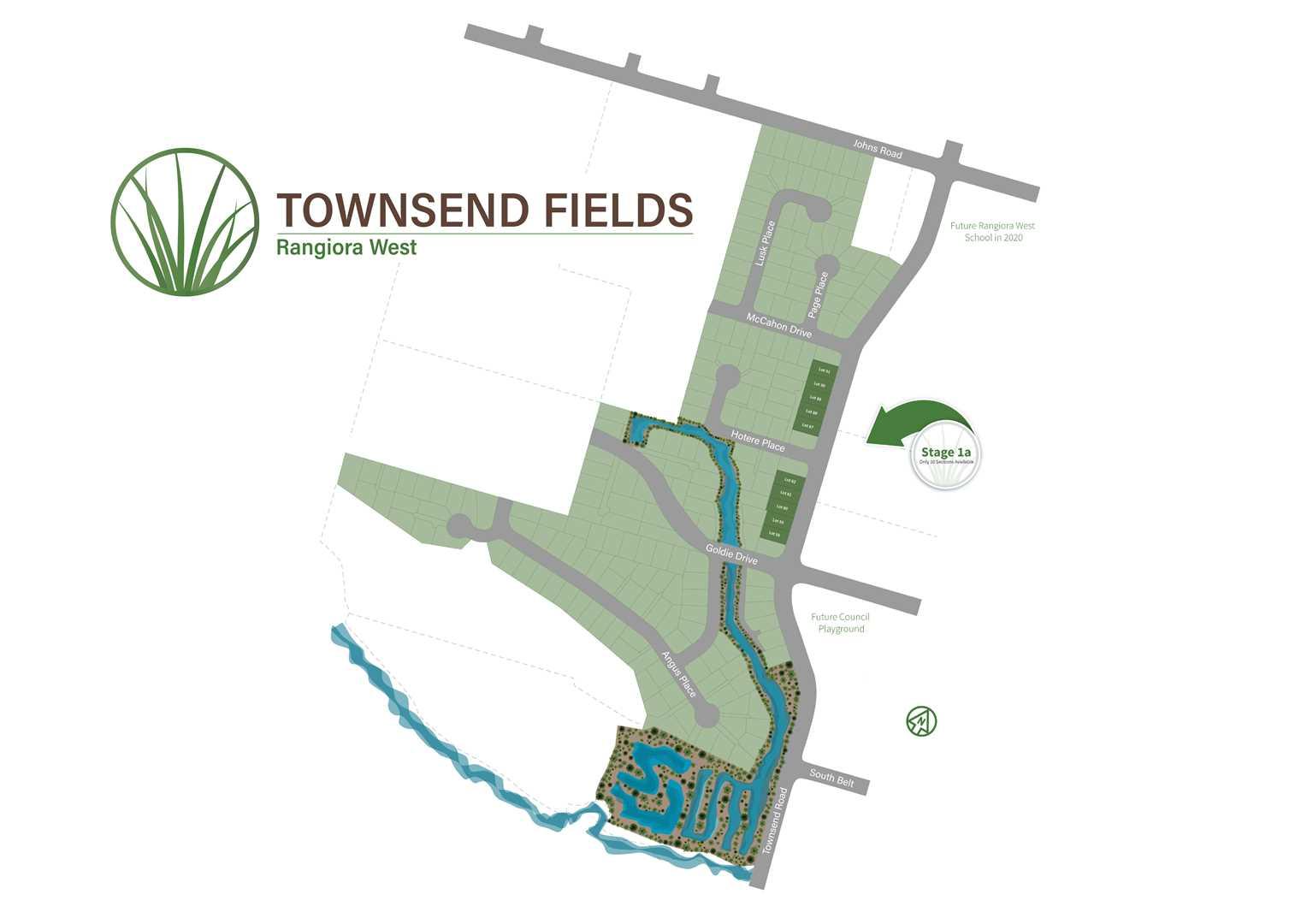 Townsend Fields, Rangiora West