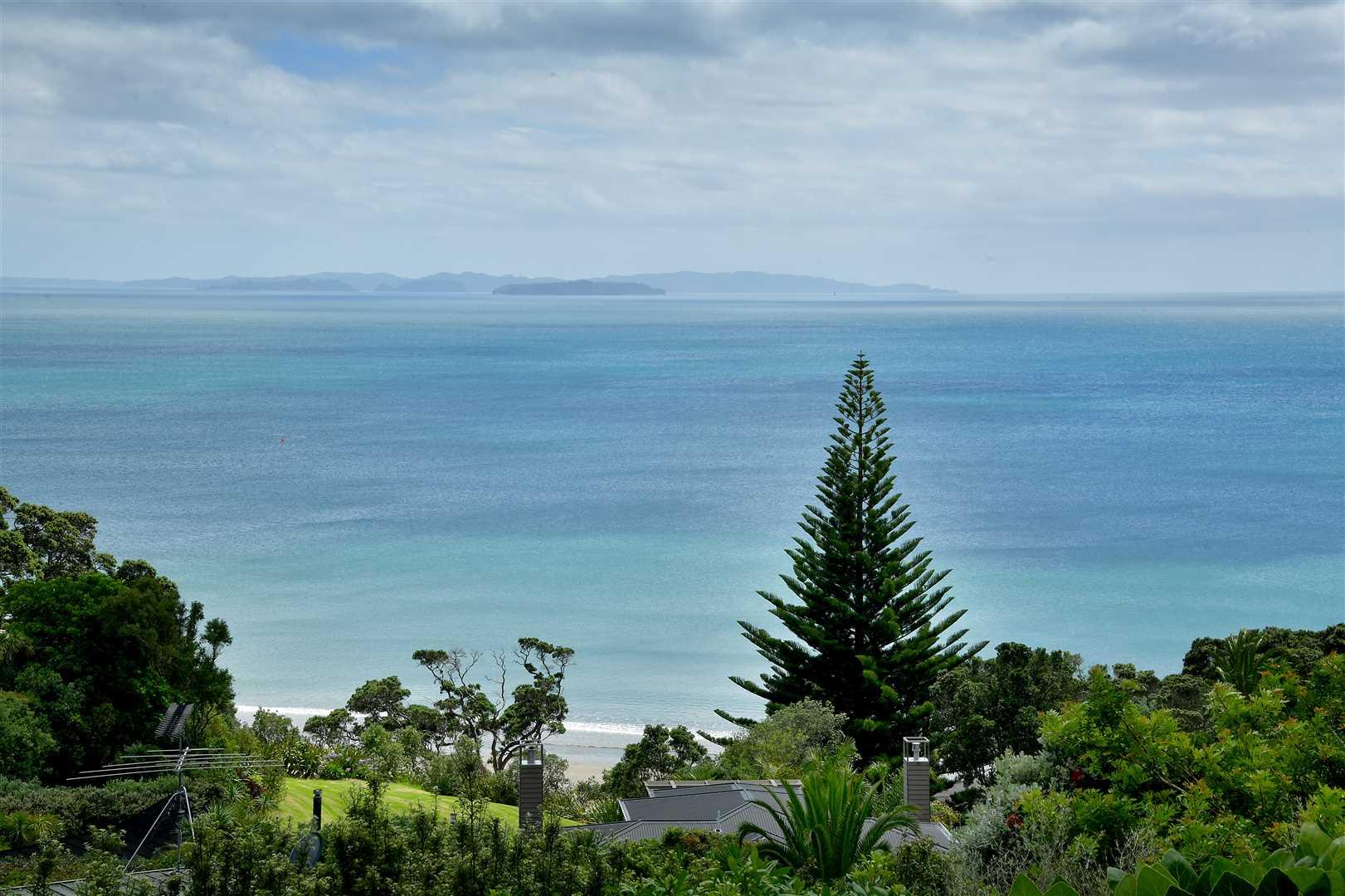 Grandstand sea views