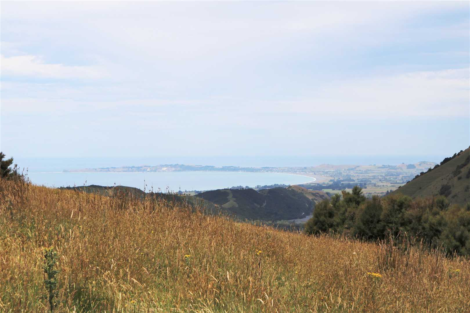 Towards Kaikoura from the Prime Building site.