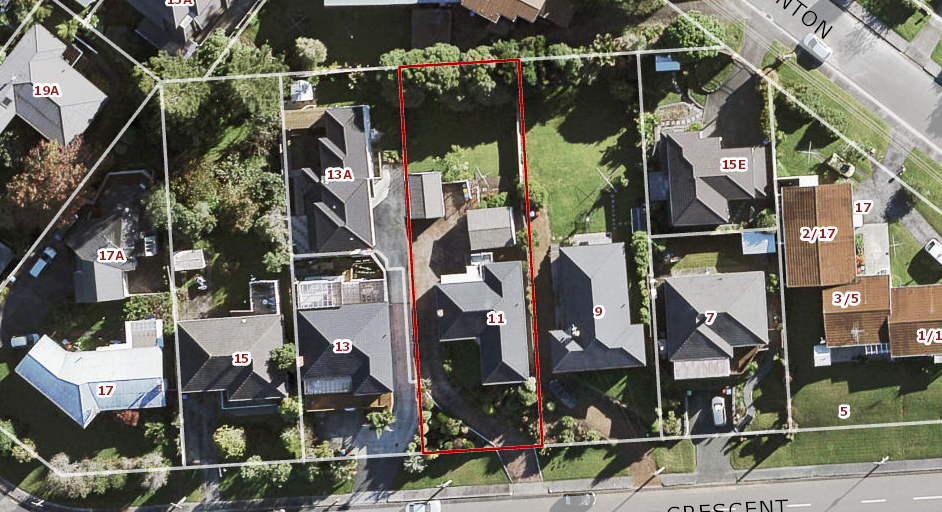 Section in Lynfield, Potential Sea View