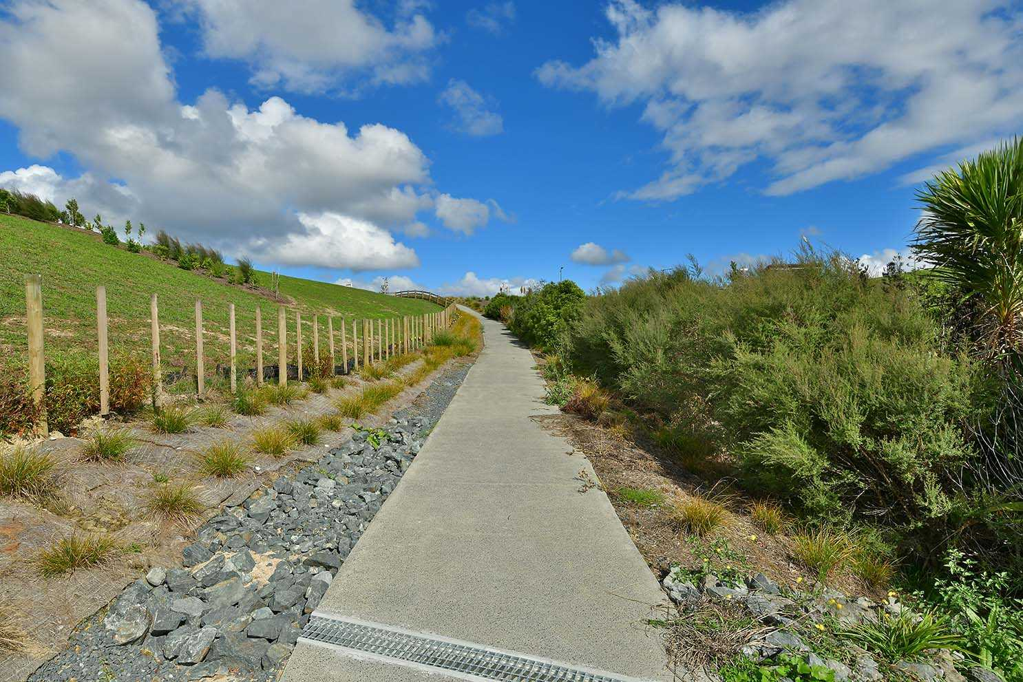 ... a path in the subdivision