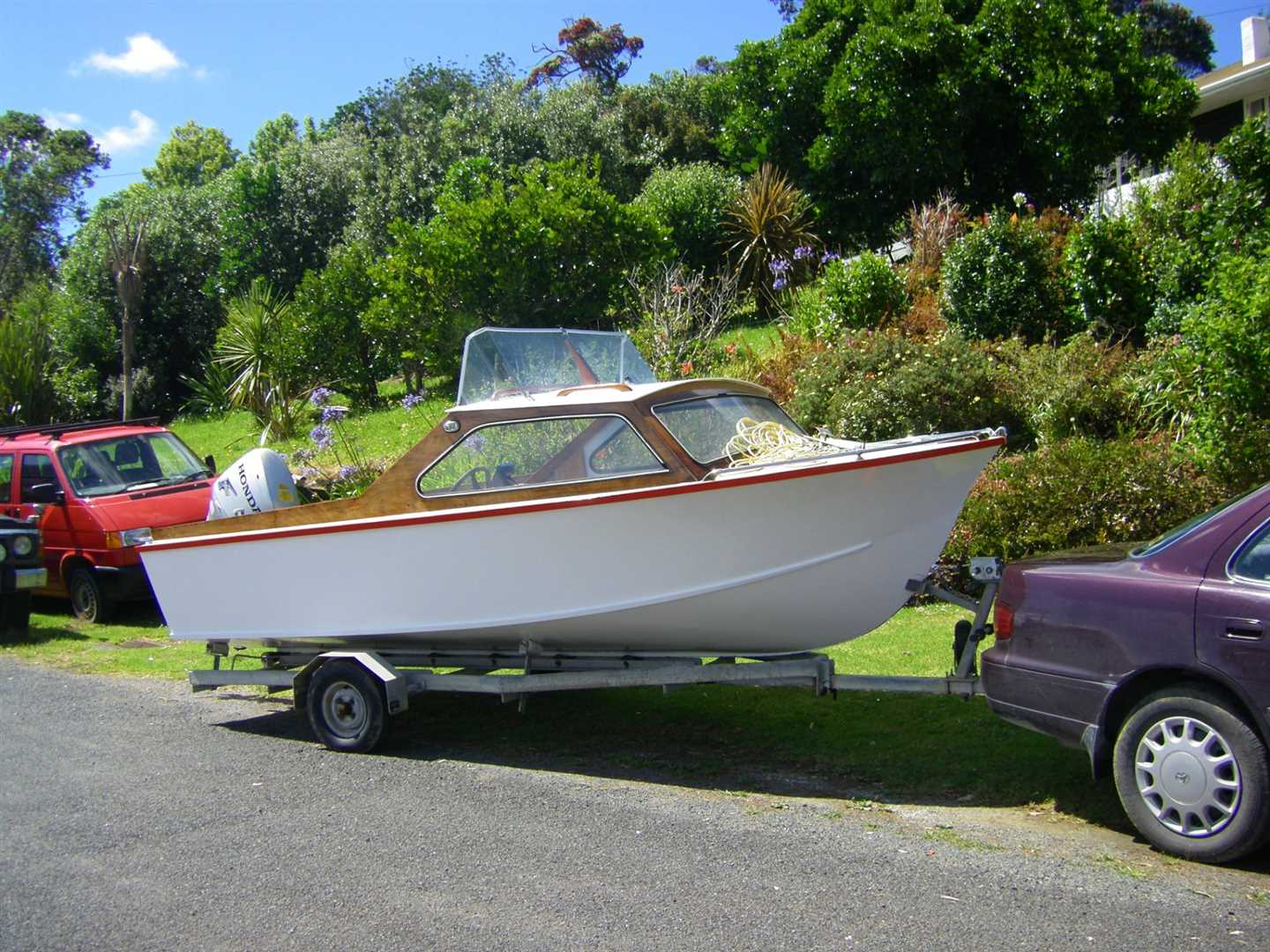 and the boat comes free! (excludes the outboard)