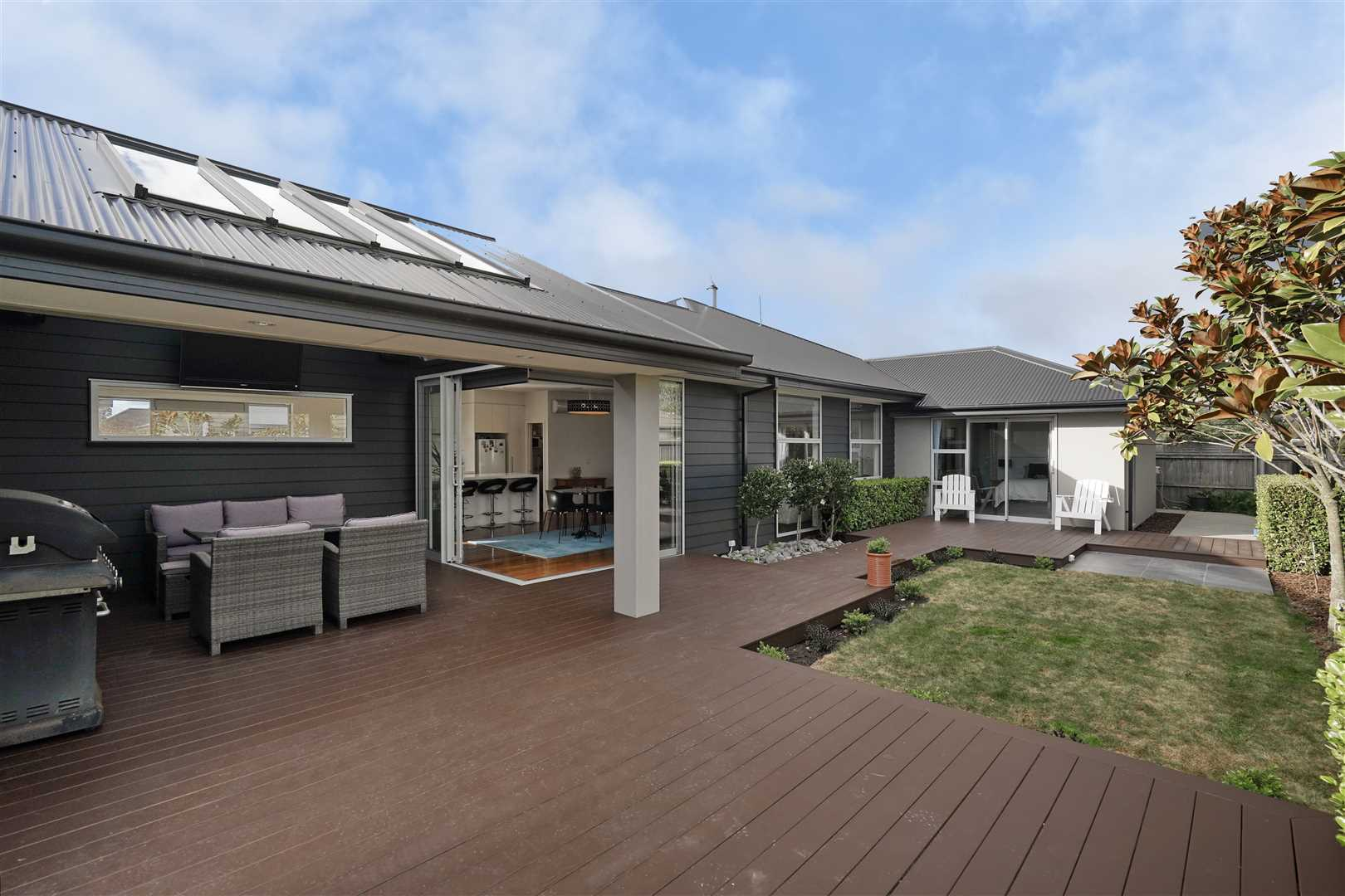 Exceptional Living with Garaging for 3 Cars!