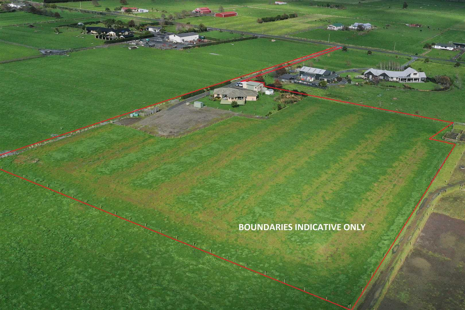 Boundary Aerial Photo - Indicative Only