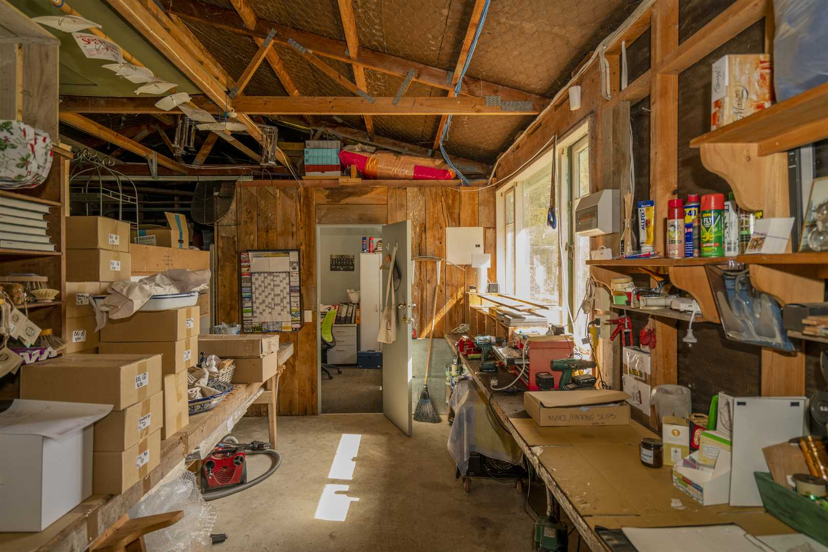 Packing shed and office