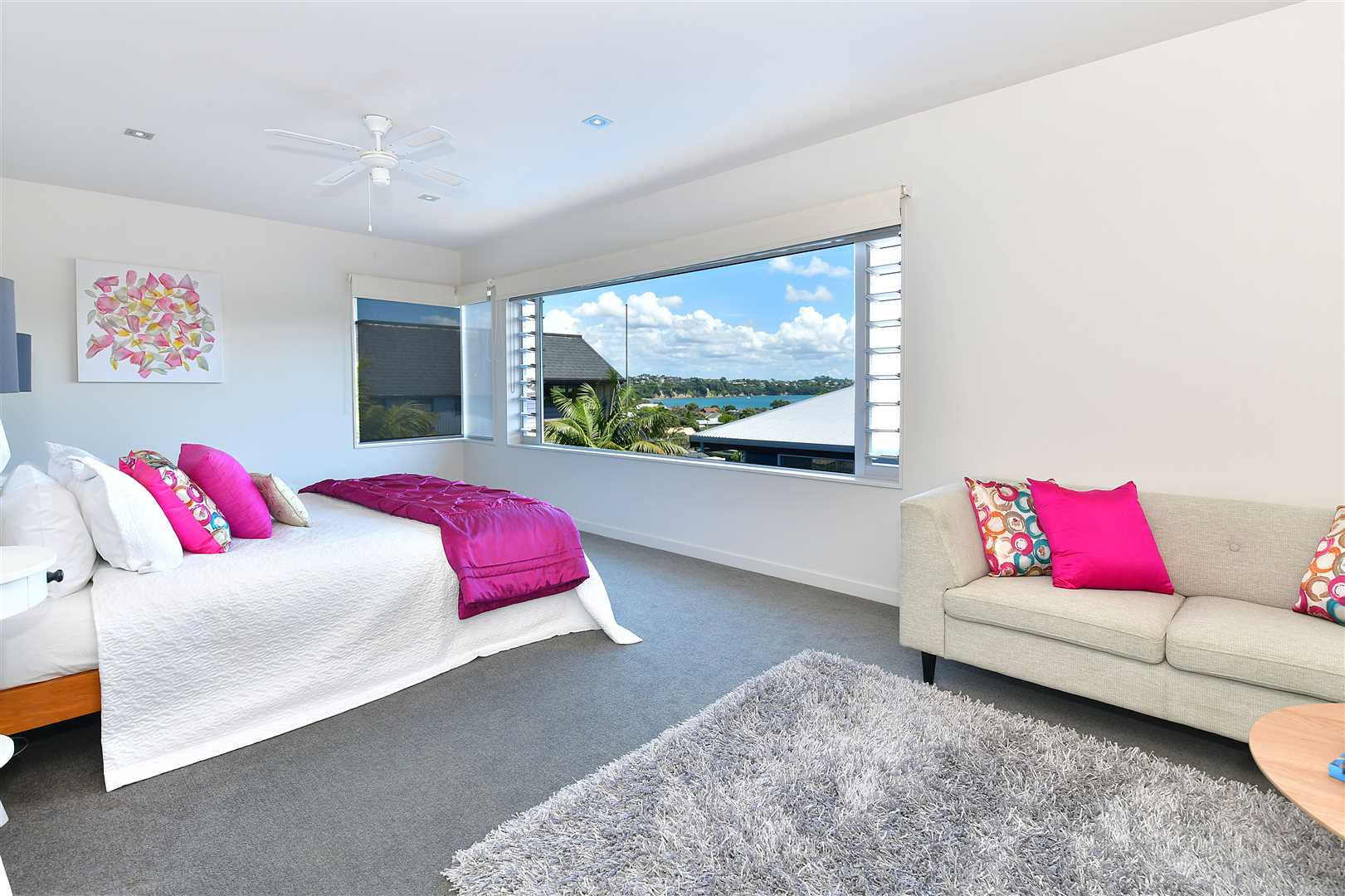 ... when its time to retire, the master suite is on the top level with some sea views