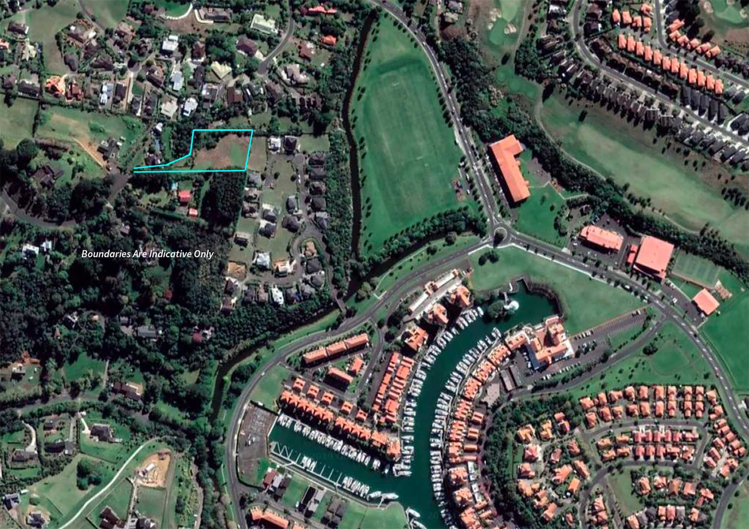 Aerial View - proximity to reserves, golf courses & marina