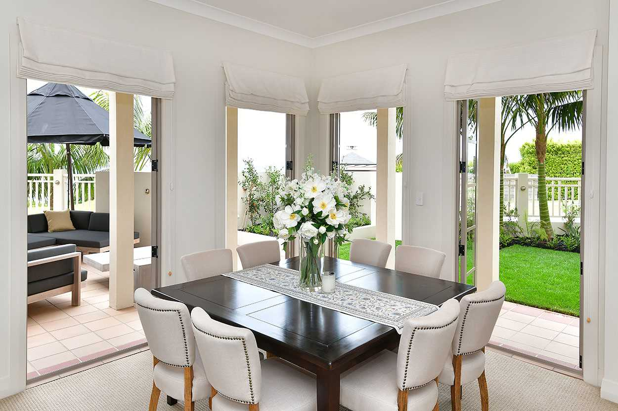 ... this is the formal dining area