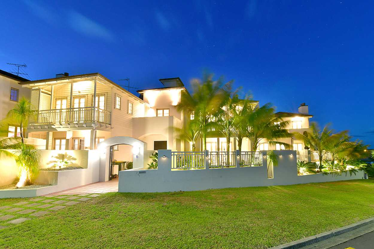 .. is this expansive, quality home - this is the road view