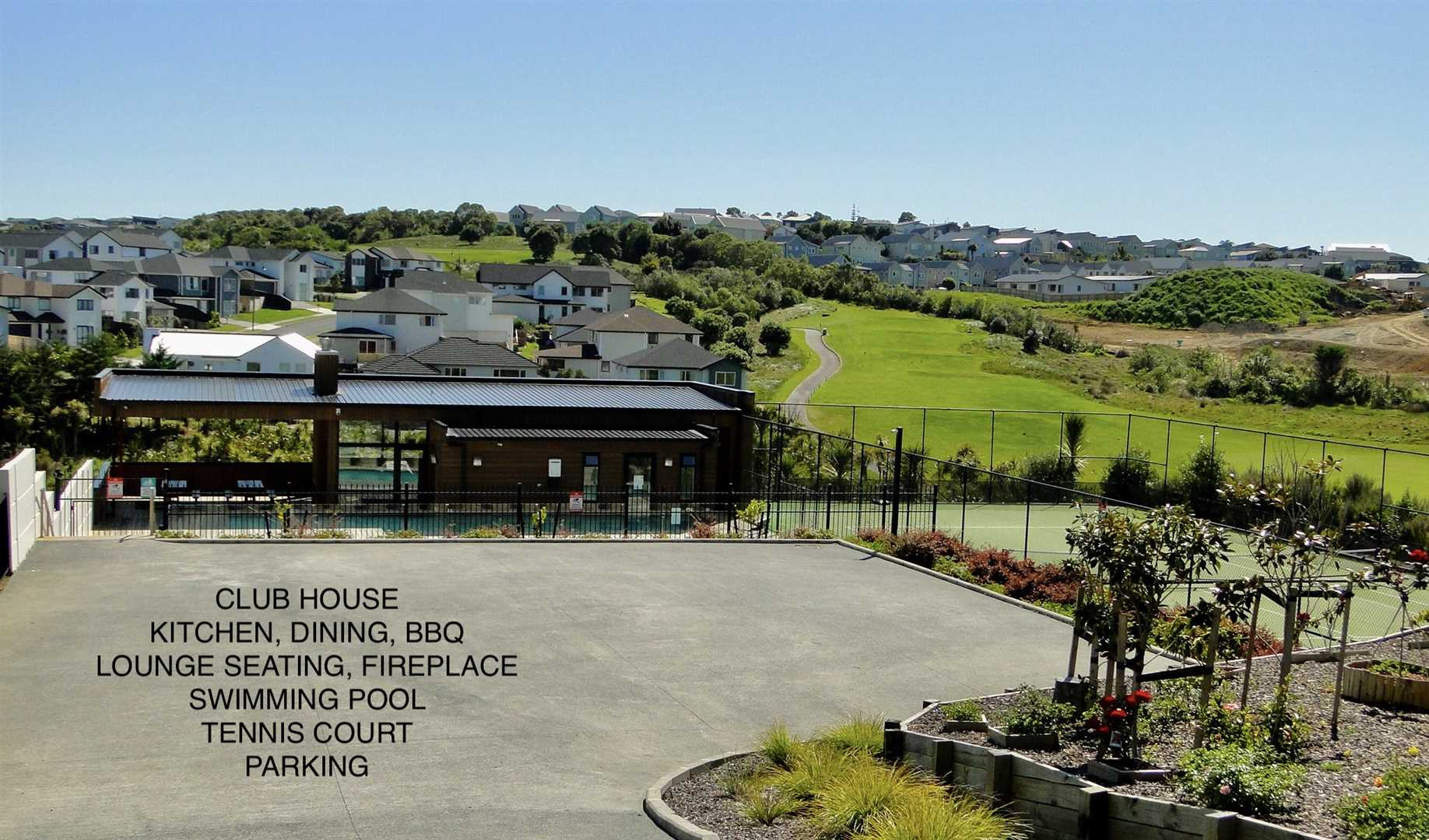 Clubhouse, Swimming Pool, Tennis Court
