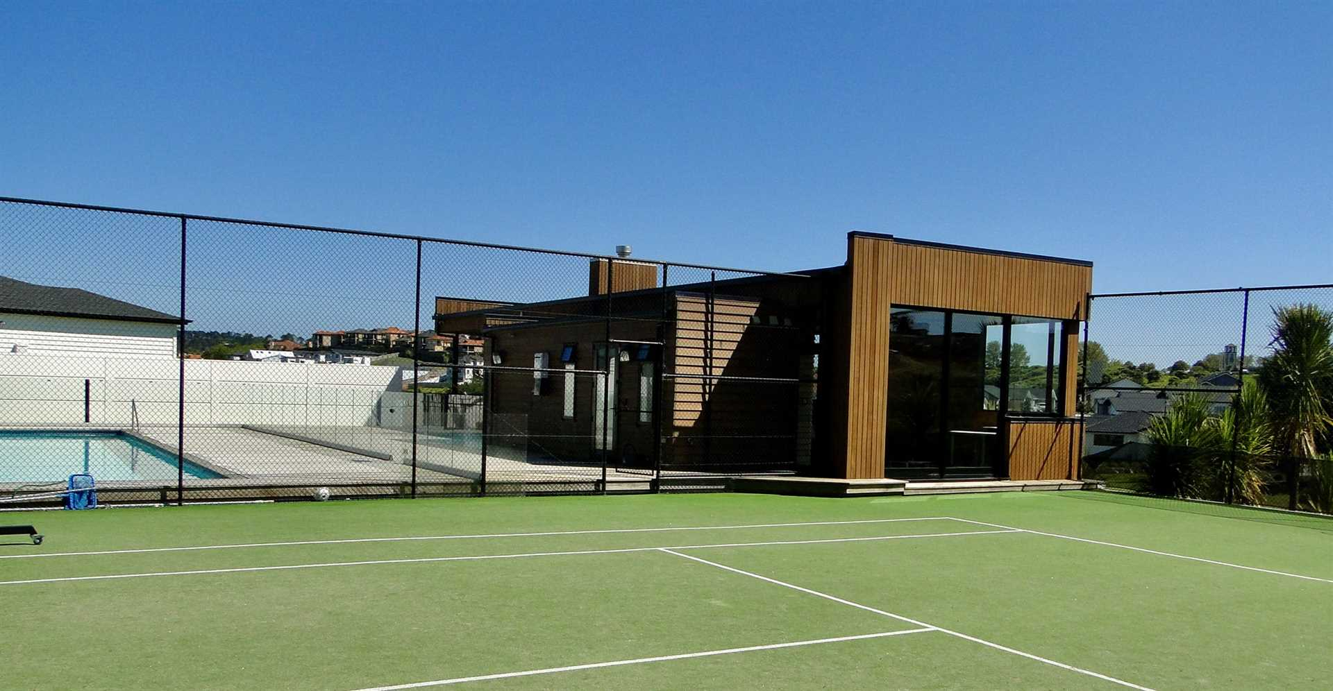 Owner's Association Clubhouse, Tennis Court, Pool