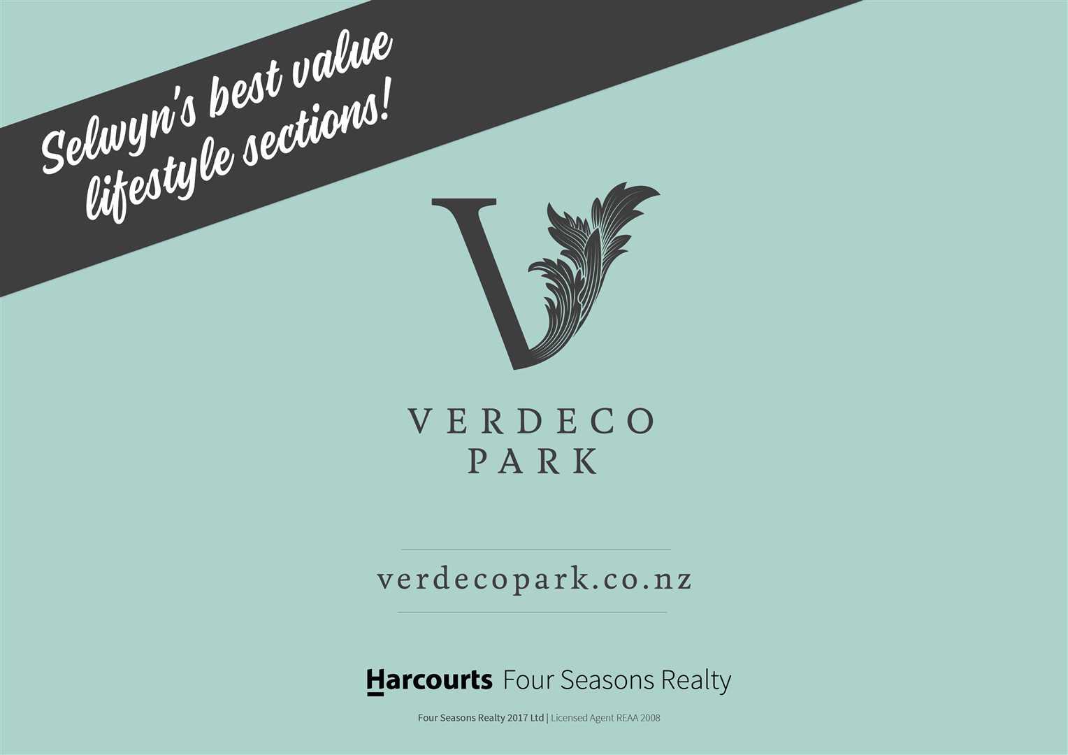 Verdeco Park - Titled section 943m2
