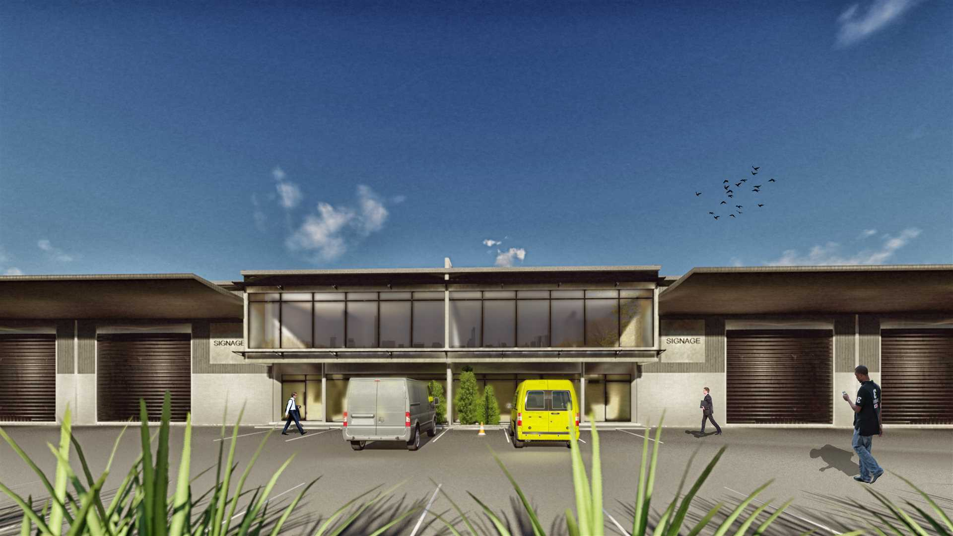 New Industrial Units - Hobsonville