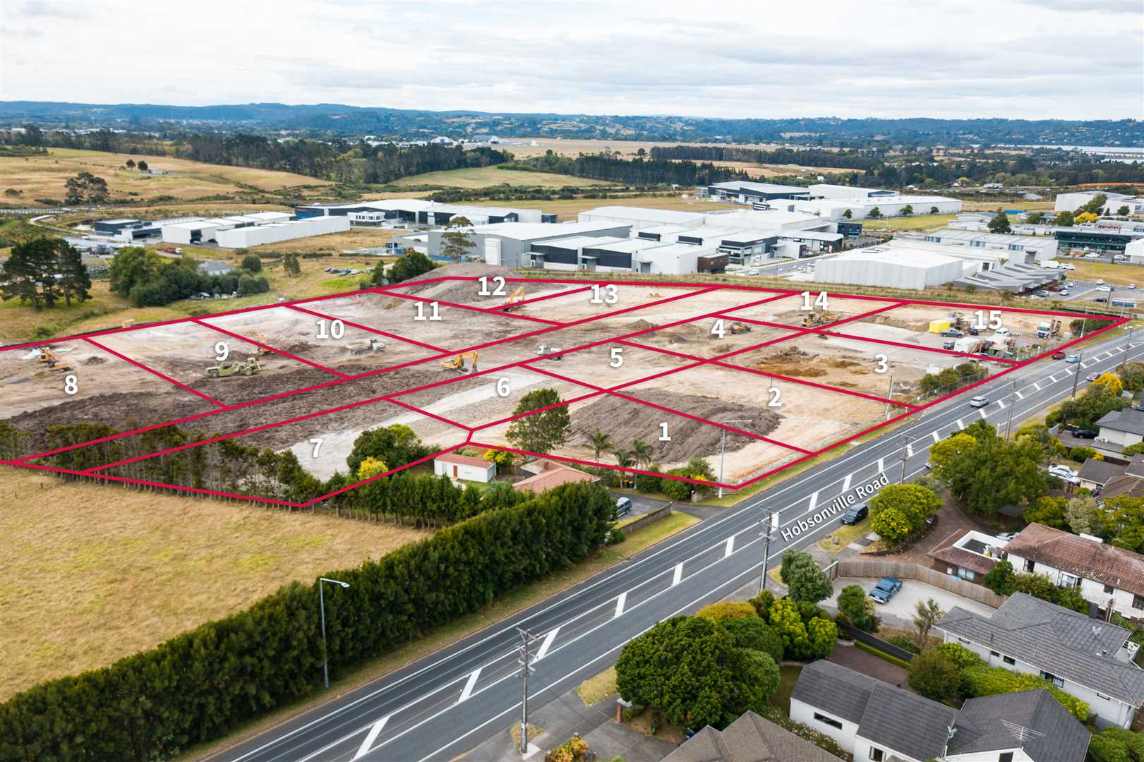 Pick of the Bunch! 2,614m² Industrial Land