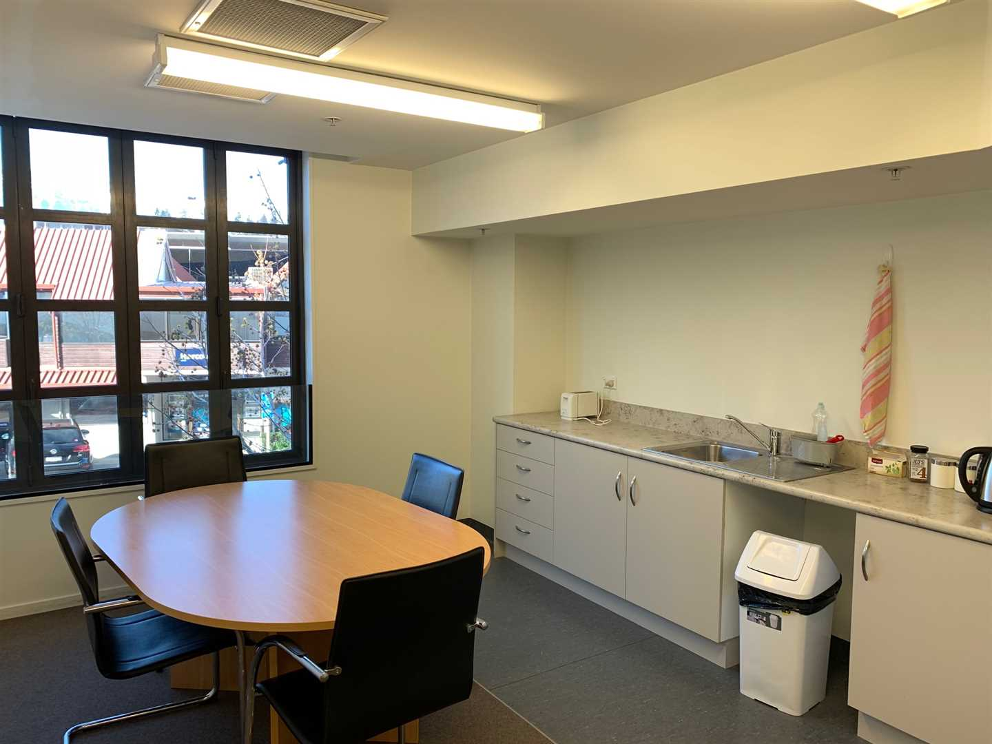 Office shared kitchenette & lunch room