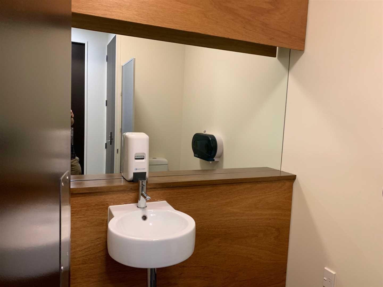 Own male and female bathroom
