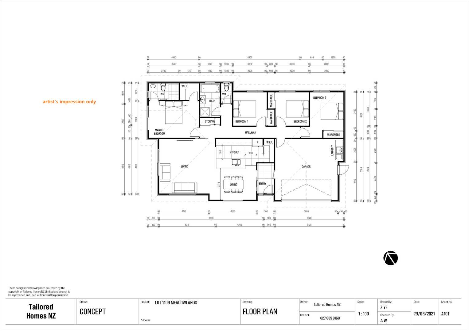Lot 1109 Meadowlands, Halswell